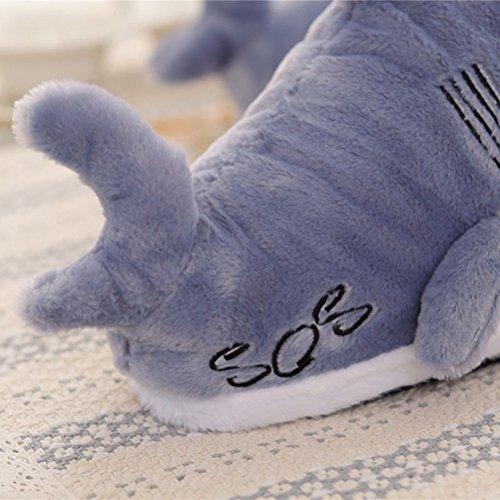 Pantoufles Animales De Bon Augure, Chaussures D'intérieur En Peluche En Peluche Pour Enfants, Femmes Et Hommes