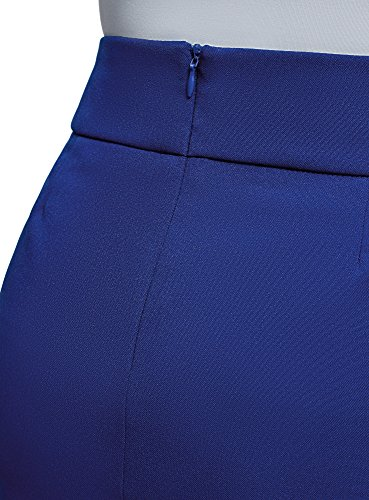 Gonna Donna Corta Ultra Basic 7500n Blu Oodji zSqaFwAxw