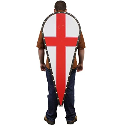 Amazoncom Swordsaxe Templar Knight Crusader Wooden Red Cross Kite