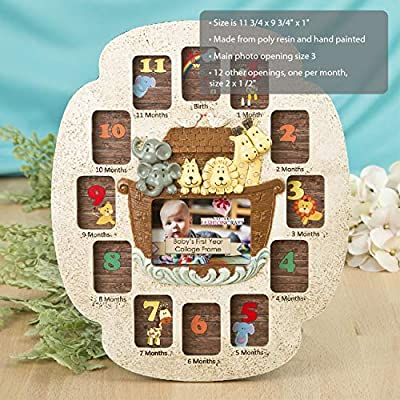 Fashioncraft Noah's Ark Baby's First Year Collage: Home & Kitchen