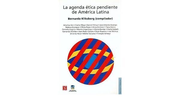 Amazon.com: La agenda ética pendiente de América Latina ...