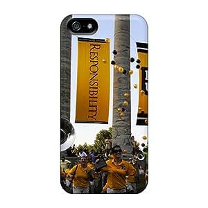 AlainTanielian Apple Iphone 5/5s Scratch Resistant Hard Cell-phone Case Unique Design Vivid Mizzou Skin [lFr21665gLxq]