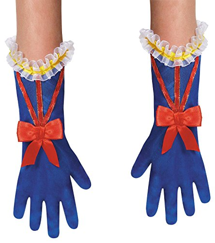 Snow White Dresses For Toddlers (Disguise Costumes Snow White Gloves, Toddler, Size 6)
