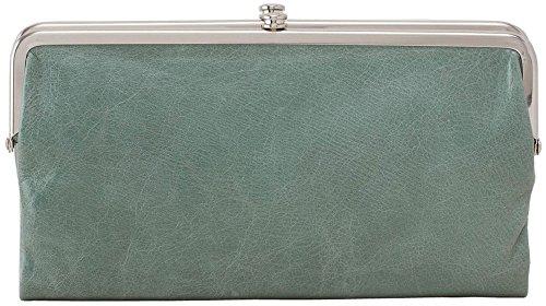 [Hobo Womens Lauren Vintage Wallet Leather Clutch Purse (Bottle Green)] (Hobo Purse)