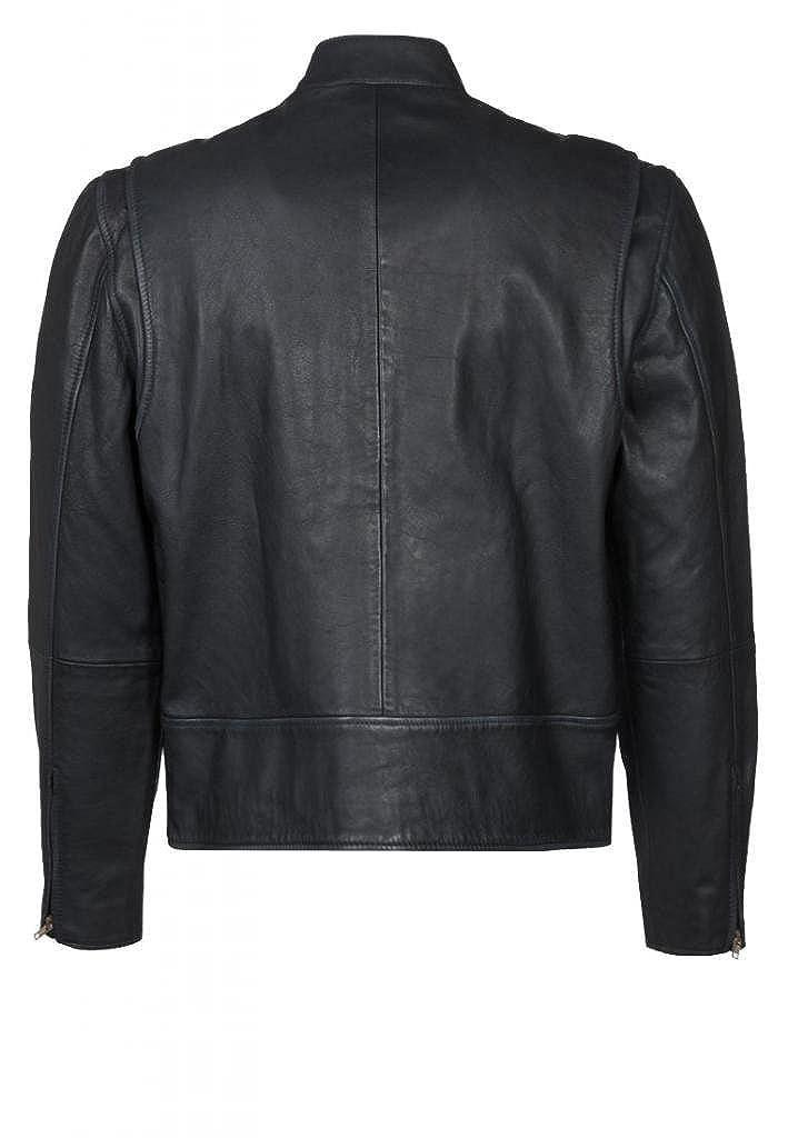 Amazon.com: Chaqueta de piel de vaca para hombre C369: Clothing