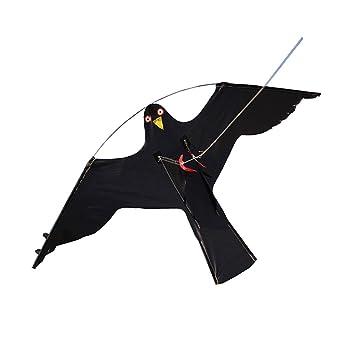 Single Line Kites Home & Garden 2x Hawk Kite Flying Bird Decoy #2 ...