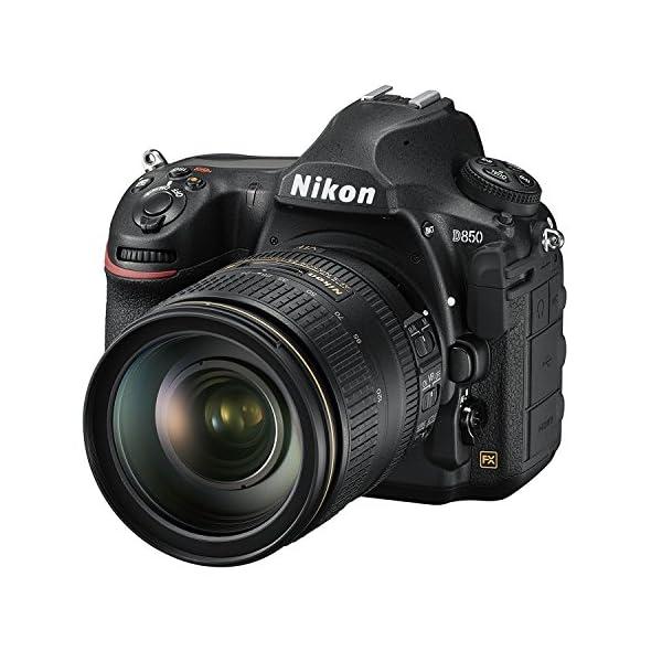 RetinaPix Nikon D850 45.7MP Digital SLR Camera with AF-S Nikkor 24-120mm F/4G ED VR Lens and 64GB Memory Card