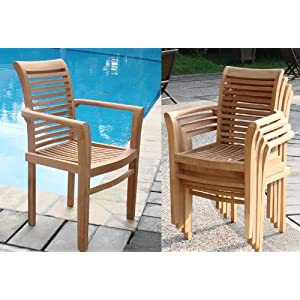 51eKUcxZJAL._SS300_ Teak Dining Chairs & Outdoor Teak Chairs