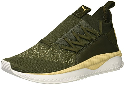 PUMA Men Tsugi Jun Sneaker Forest Night-pebble-puma White