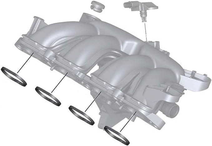 Mini Cooper S Intake Manifold Gasket O-ring Set Of 4 Oem R55-r61