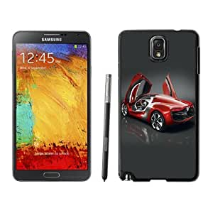 NEW Unique Custom Designed Samsung Galaxy Note 3 N900A N900V N900P N900T Phone Case With Renault DeZir Concept Car_Black Phone Case