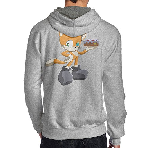 Price comparison product image Show Time Men's Game Stamp Cat Fashion Hoodies Ash XL