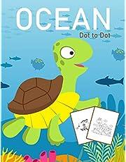 Ocean Dot to Dot: 1-25 Dot to Dot Books for Children Age 3-5