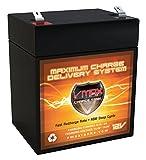Vmaxtanks V06-43 12V 6Ah AGM Deep Cycle Battery Replaces DJW12-4.5, UB1250, CA1240, PS-1250, NP4-12