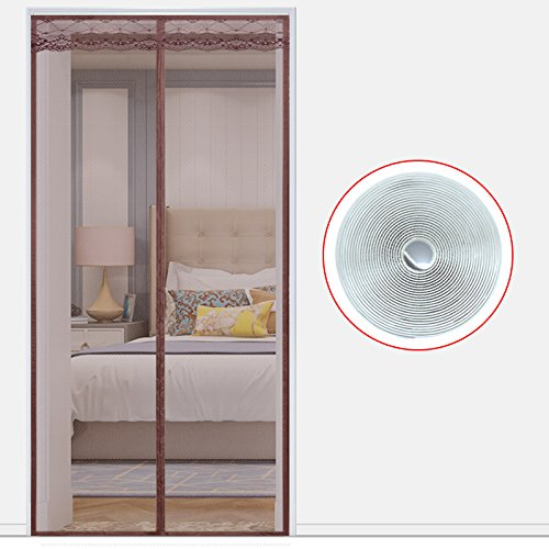 Love Home in Estate Zanzariera Magnetica 28x79inch Morbido Porta Finestra del Salotto Domestico di Chiusura Automatica di Garza.-A-70x200cm