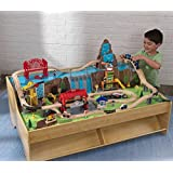KidKraft Grand Central Station Train Set And Table (3+ Years)