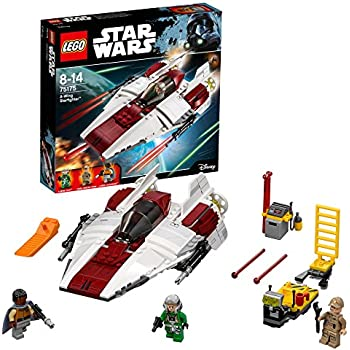 Amazon.com: LEGO Star Wars A-Wing Fighter: Toys & Games