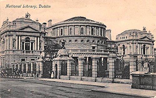 National Library Dublin Ireland Postcard