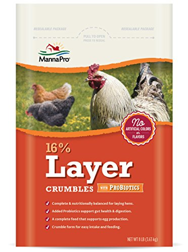Manna Pro 16-Percent Layer Crumbles with Probiotics, 8 lb by Manna Pro (Image #4)