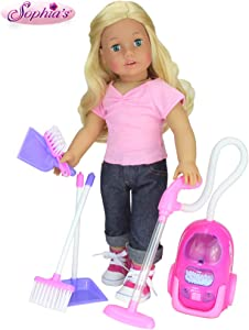 """Sophia's Doll Accessories for Cleaning 