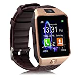 Piqancy DZ09 Bluetooth Smartwatch (Gold)
