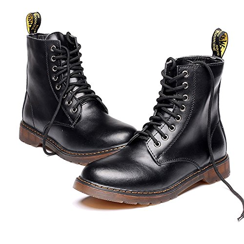Size All'aperto Oxfords Top Best Color EU Classic High da uomo for Choise Leather 40 UP Gentlemen UP Scarpe Boots Black Black 86vwqT8