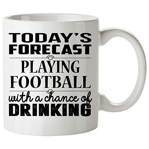 FOOTBALL Mug 11 Oz - FOOTBALL Gifts - Unique Coffee Mug, Coffee Cup ()