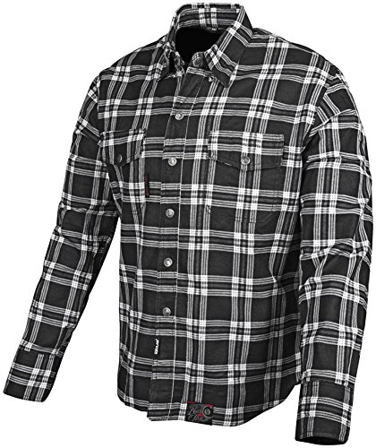 Speed and Strength Black Nine Men's Reinforced Moto Shirt (Black, ()