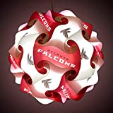FanLampz Original Self-Assembly Lighting System for Patios, Garages, Man Caves - NFL Officially Licensed Item (Atlanta Falcons)