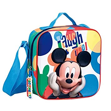 Amazon.com : Mickey Mouse 52519 - Bolsa merienda : Office ...