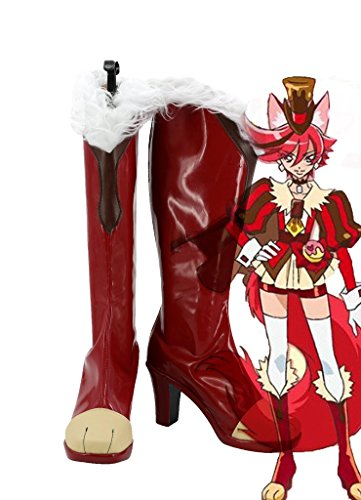 Kirakira Bella Cura Alla Moda Cura Chocolat Kenjou Akira Scarpe Cosplay Stivali Su Misura