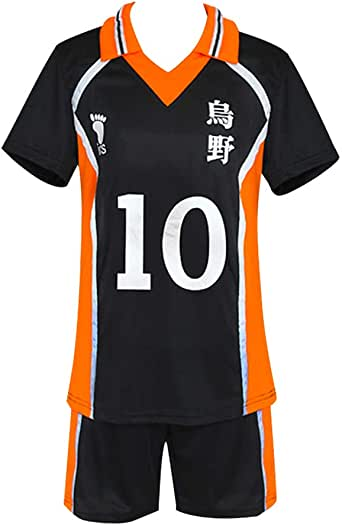 Amazon.com: KINOMOTO Haikyuu!! Karasuno High School Sport