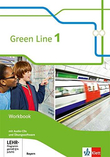 Green Line 1. Ausgabe Bayern: Workbook mit 2 Audio-CDs und Übungssoftware 5. Klasse (Green Line. Ausgabe für Bayern ab 2017)