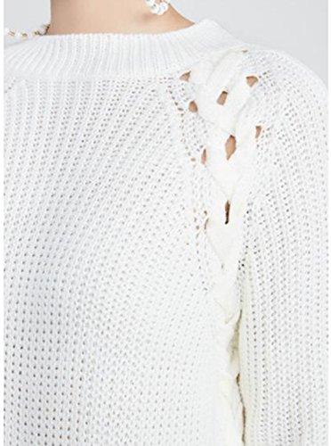 Vian Lundgaard - Jerséi - Opaco - para mujer Weiß