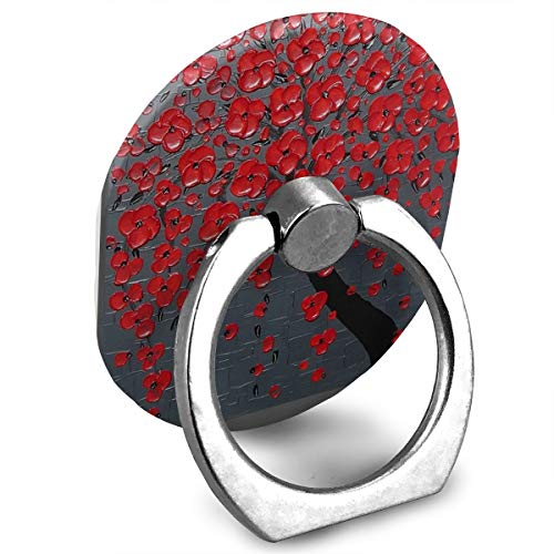 Ring Holder Oil Painting Red Flower Ring Phone Holder for sale  Delivered anywhere in Canada