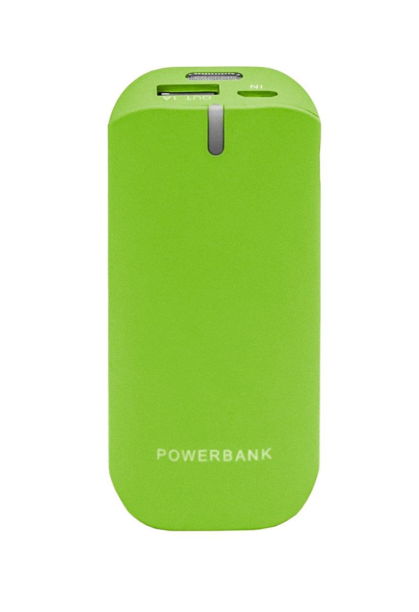 Woxter Power Bank 4400 - Batería portátil externa, verde