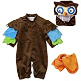 Toddler Baby Infant Owl Night Animal Costume Christmas Dress Up Outfit