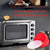 Microwaveable Silicone Popcorn Popper, BPA Free