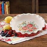 "The Pioneer Woman Vintage Floral 9"" Pie Plate (Pack of 2)"