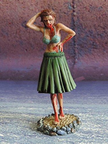 Dead Island Riptide Zombie Hula Girl Bobble Figurine