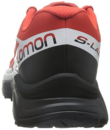 black Racing Adults' Salomon Red L39121500 racing Red White Boots Low Rise white Hiking Black Unisex 1nFwaqO