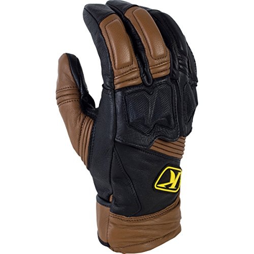 Klim Adventure Men's Dirt Bike Motorcycle Gloves - Brown/X-Large