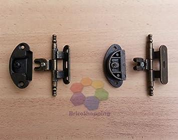 Cerniere Per Mobili Antichi 2 Pezzi Cerniera In Stile Arte Povera Mobili Legno Massello A58 Bronzo