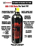 Maddog 20 Oz Refillable Aluminum CO2 Paintball Tank - 1 Pack