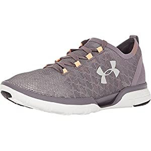 Under Armour Women's UA Charged Coolswitch Run Sneakers, Flint/White, 9