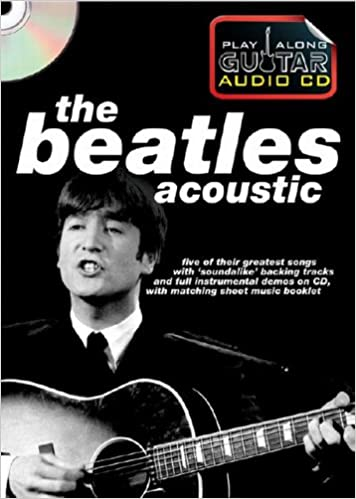 THE BEATLES FOR GUITAR Chord Sheet Music Book /& 2 x Playalong CDs Backing Tracks