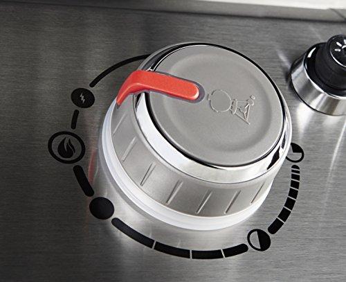 Weber 60014001 Genesis II LX E-240 Liquid Propane Grill, Black, Two-Burner,