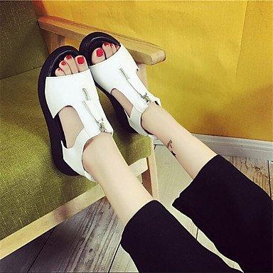 5 Women'S Canvas UK6 US8 Pu CN40 EU39 Flat Comfort Casual Spring RTRY Comfort 5 Sneakers White gwRgxA