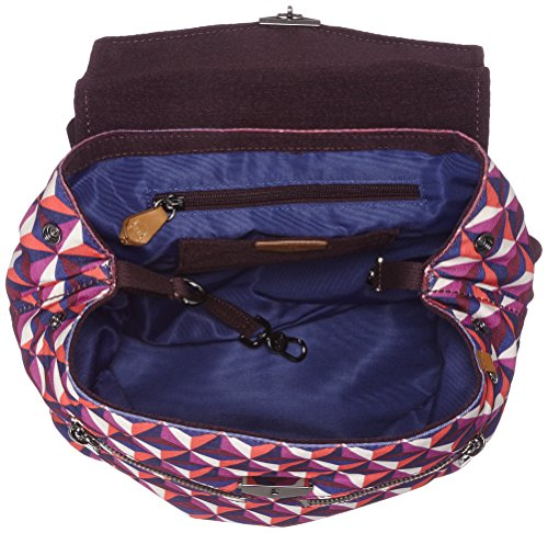72b Kipling Roll Backpack Women's A On Triangle Multicolour kaeon wwqAZRgT