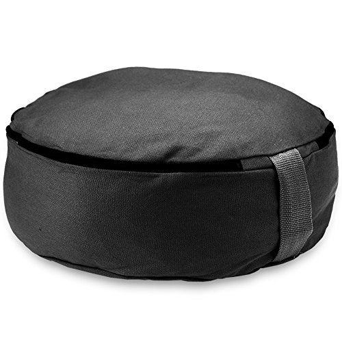 Deluxe Large 18 Inch Round Zafu Yoga Meditation Cushion - Choose Color! by Crown